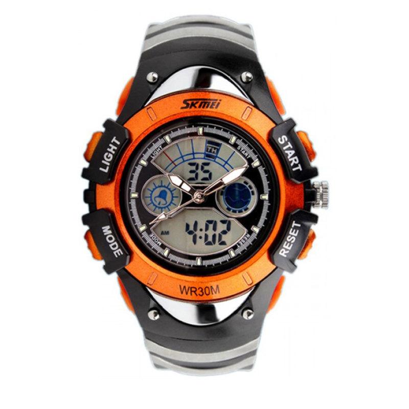Nơi bán Đồng hồ bé trai dây cao su Skmei 0998 (Đen)