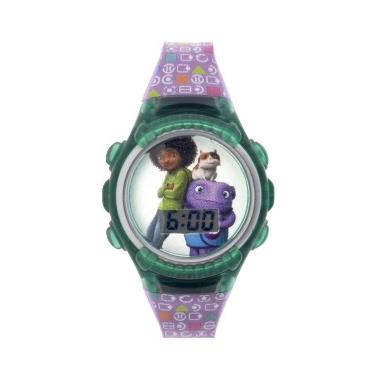 Đồng hồ trẻ em dây nhựa LCD Flashing Lights Disney Home bán chạy