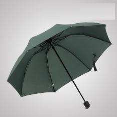 Đánh Giá Dù 3 khúc chịu nắng mưa màu xanh 2206A