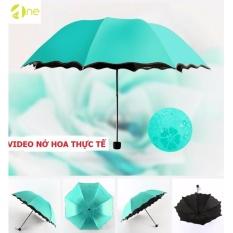 Giảm giá Dù chóng tin UV 99% nở hoa chóng tia UV ( Xanh Lam )