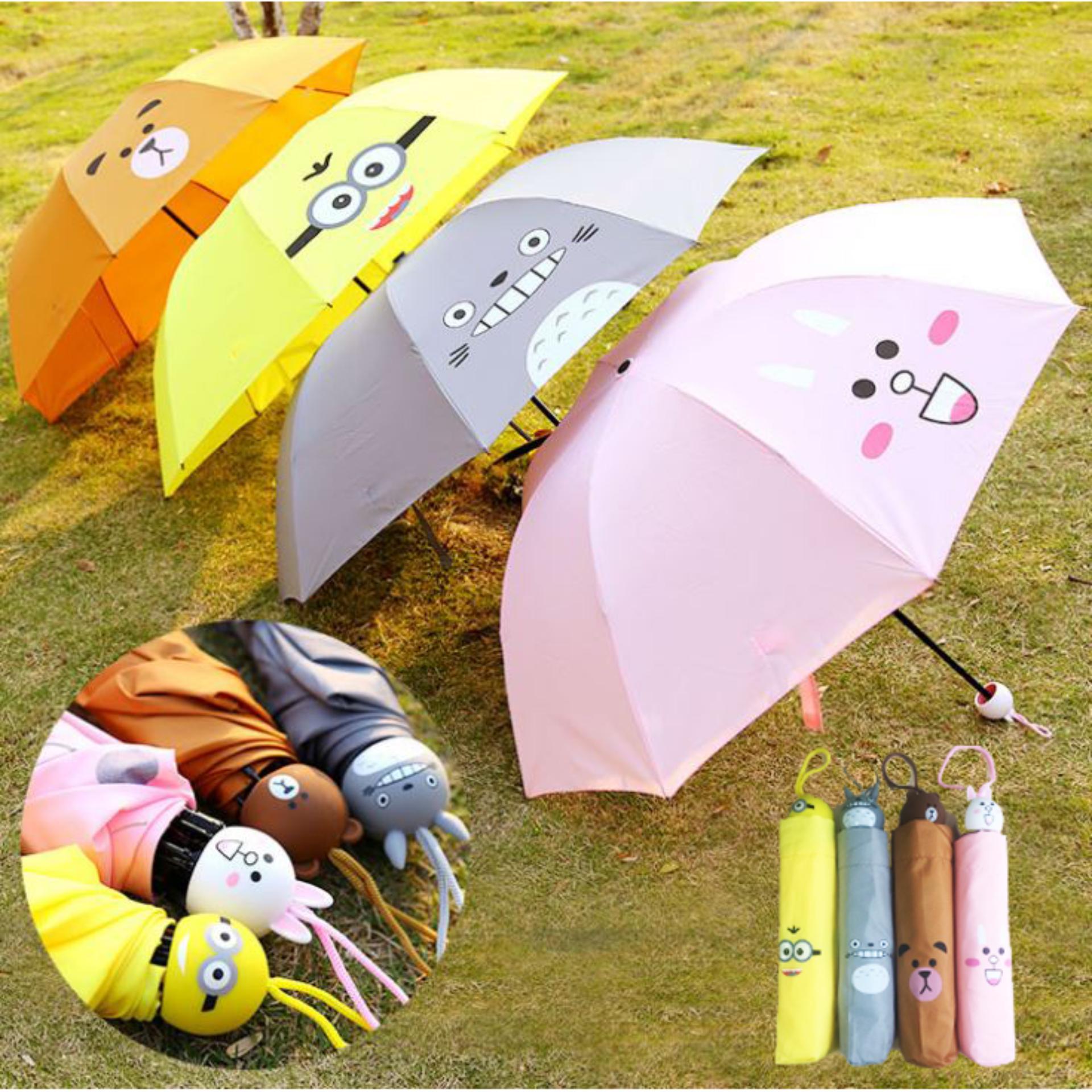 Ô dù che mưa/nắng cao cấp đến từ Nhật Bản. Size lớn (Chống tia tử ngoại)