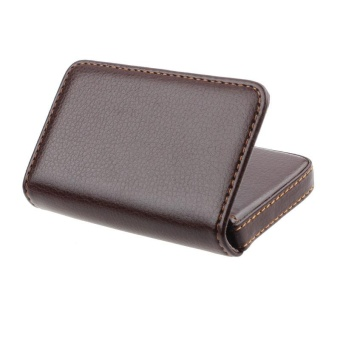 Exquisite Magnetic Attractive Card Case Business Card Case Box Holder CO - intl