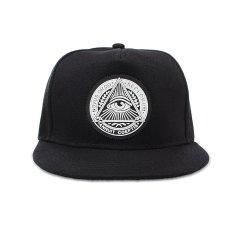 Thời trang Nam bóng chày Nón snapback Hip-Hop điều chỉnh bboy nón thể thao mũ đen MỚI-quốc tế