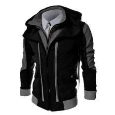 Fashion Men's Slim Warm Collar Tops Casual Winter Coat Outwear Jacket