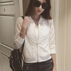 Fashion Women Jacket Sunscreen Shirt Thin Casual Baseball Coat