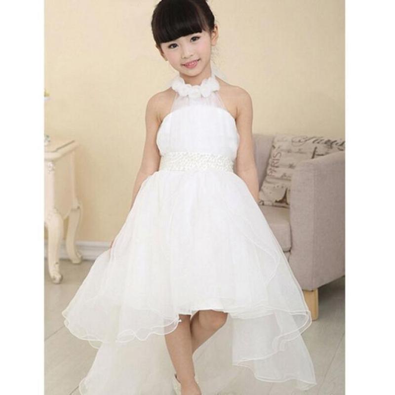 Giá bán Flower Girl Princess Dress Kid Party Pageant Wedding Bridesmaid Tutu Dresses - intl