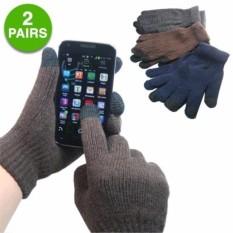 Combo 2 Găng tay (1đôi) Bao tay cảm ứng nam nữ siêu tiện dụng