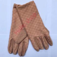 Găng tay bông đi nắng cho các bạn nữ BVF-F1 (Màu sắc và họa tiết giao ngẫu nhiên)