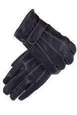 Găng tay cảm ứng chất liệu da cừu mềm mại thời trang Victoria90 GT6008 (đen)