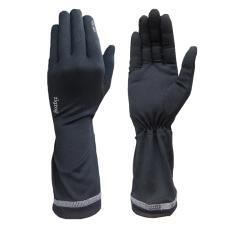 zigzag GLV00309- Găng tay ngắn chống nắng UPF50+ ( đen)