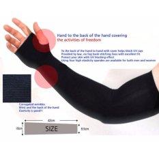 Găng tay chống nắng siêu co giãn cho nam ( đen)