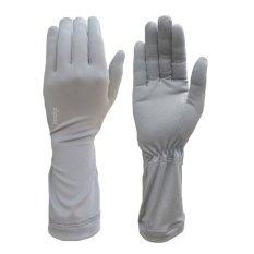 zigzag GLV00302- Găng tay ngắn chống nắng UPF50+ (xám)