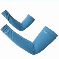 zigzag GLV00204- Găng tay ống chống nắng UPF50+ ( xanh nhạt)