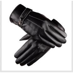 Găng tay da nam cao cấp chống nước giữ ấm thời trang mới nhất