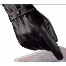 Găng tay da bao tay nam thời trang cao cấp giữ ấm mùa đông