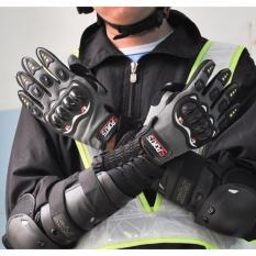 Găng tay kín ngón có gù bảo hộ chuyên phượt (Size Nam)