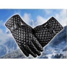 găng tay nam da thật mẫu mới nhất chống nước giữ ấm