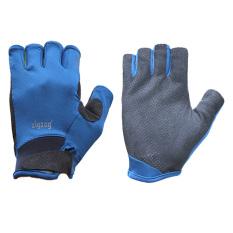 Găng tay thể thao chống nắng UPF50 (Xanh phối đen)