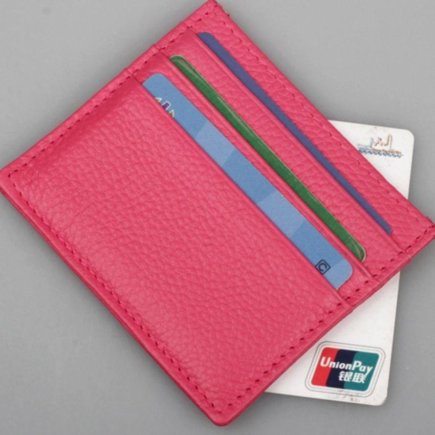 ... Genuine Leather Card Wallet For Women Men Credit Card Holder,Latest Credit Card Travel Wallets ...