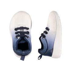 Giày bata bé trai TRAINER (Gradient Trắng Xanh)
