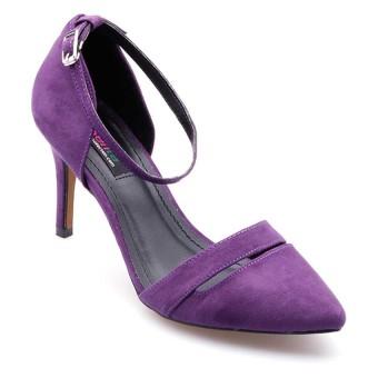 Giày bít mũi có quai cổ Senta STB47 (Tím)