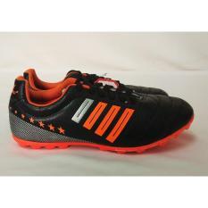 Giày bóng đá sân cỏ nhân tạo Coavu chất lượng cao đen