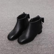 giày boot cao gót cho bé gái