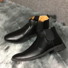 Giày Boot Chelsea Da Trơn