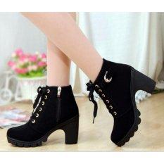 Giày boot thời trang DE21 (Đen)