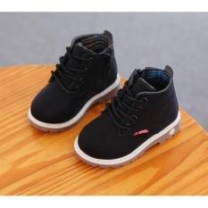 Giày bost trẻ em thời trang RS120 (Đen)