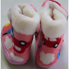 Giày bốt giữ ấm chân cho bé từ 6-12 tháng tuổi (Màu cam)