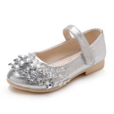 Giày Búp Bê Đính Đá Xinh Xắn D8502 Cho Bé Gái Từ 4-6 Tuổi