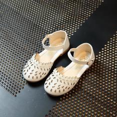 Giày búp bê đính hạt trai Gokichi B034 (Trắng)