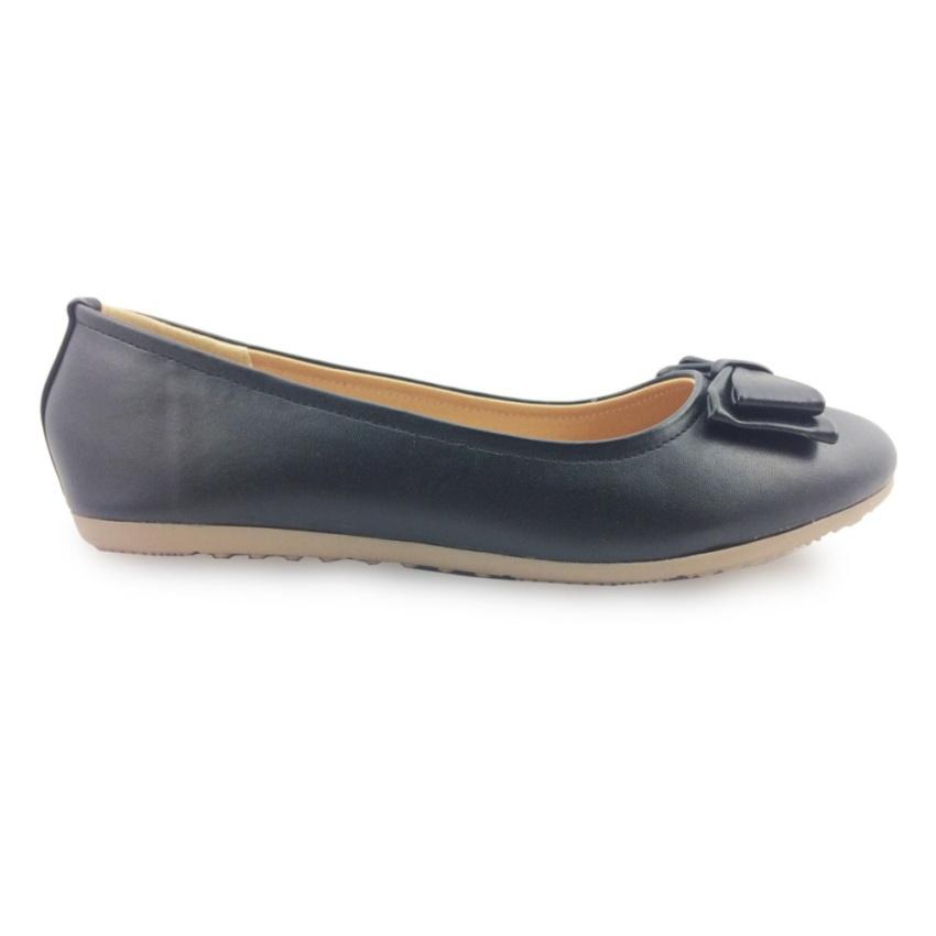 Hình ảnh Giày búp bê đính nơ GS16-467-171-D G alanti (Màu Đen)