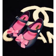Giày cao cấp Mini sed dành cho trẻ em nơ -AL