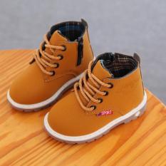 Giày Cao Cổ Bé Trai D8501 Xinh Xắn 3 Màu