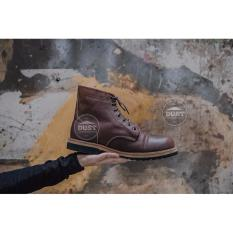 Giày cao cổ nam da bò redwing ranger RR01