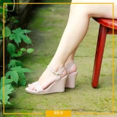 giày cao gót đế xuồng 7cm – XN701 [MÀU HỒNG PHẤN]