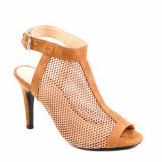 Giày Cao Gót Giả Bốt Phối Lưới MZB12.1