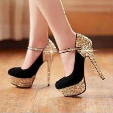 Giày cao gót kim tuyến cao cấp