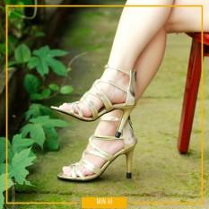 giày cao gót mũi nhọn 7cm – CG710 [MÀU Vàng Gold]