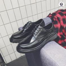 Giày Da nam Thời Trang Cao Cấp Mando – GDB23 Đen
