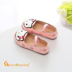 Giày dép bé gái giày bé gái búp bê đế kếp GLG067 hình mèo