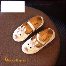Giày dép bé gái giày bé gái đẹp kiểu búp bê hình thỏ GLG005