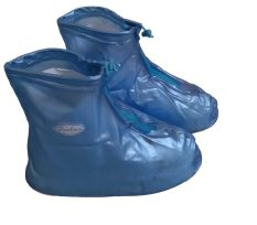 Giày đi mưa Over-Shoes (Xanh)