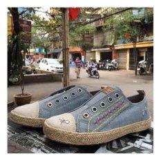 Giày lười bé gái đế cói NEXT AGU32
