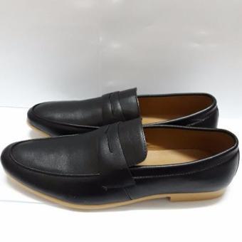 Giày lười công sở thời trang da thật