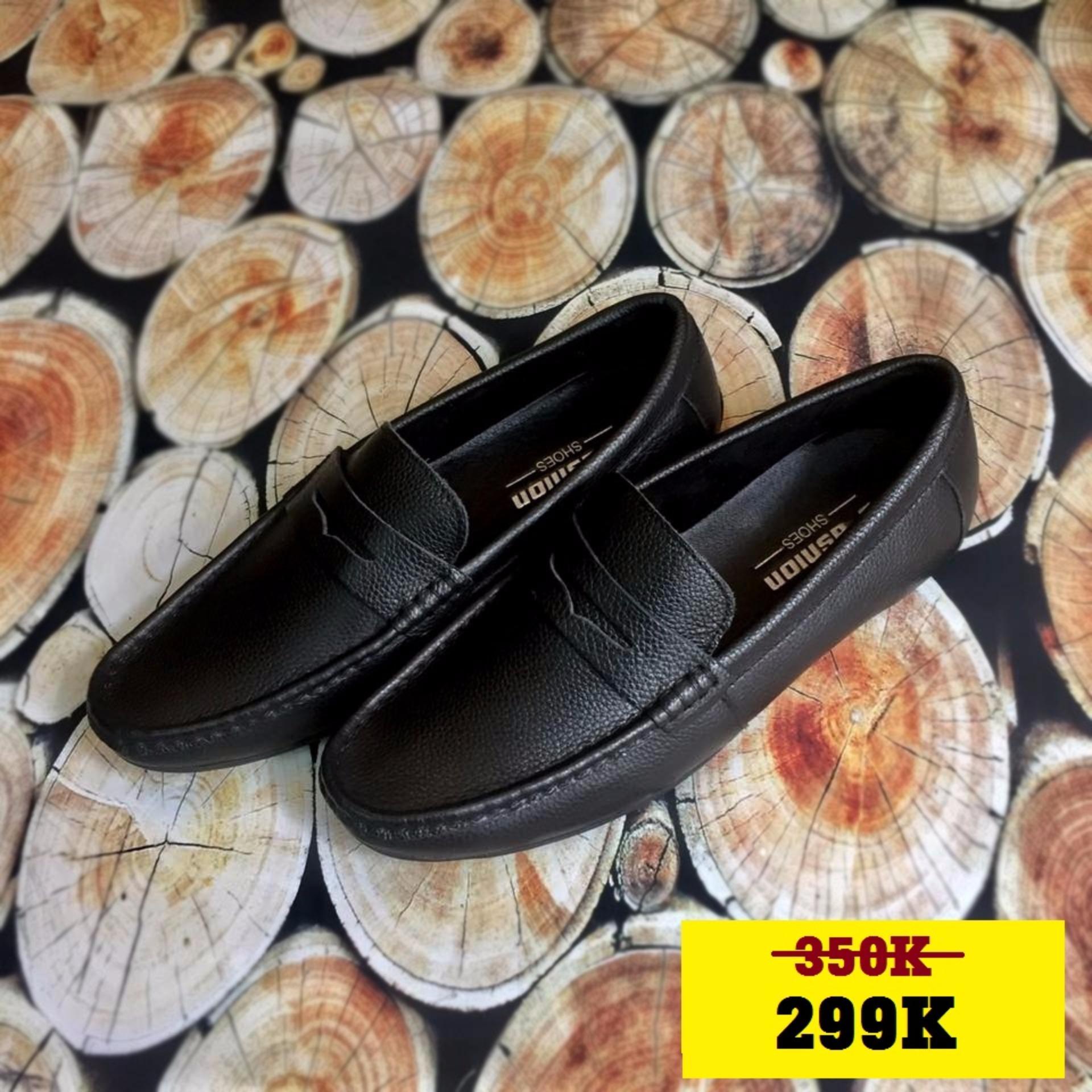 Giày Lười Da bò 100% – Xưởng đóng giày Hoàng Diệu