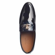 Giày lười da bóng chuông vàng,cao cấp