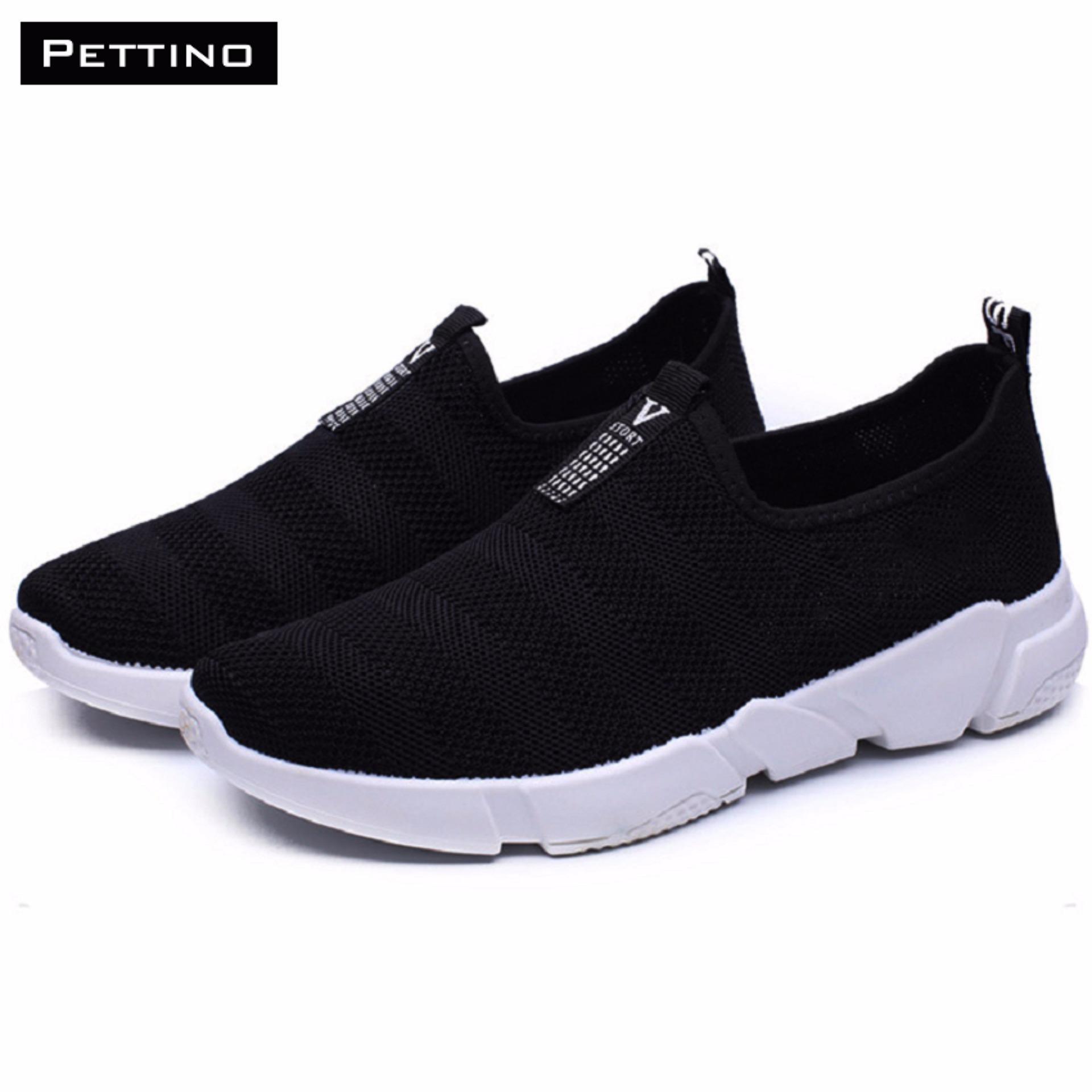Giày Lười Nam Thời Trang – Pettino GL20 (đen)